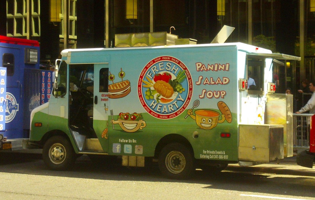 Fresh & Hearty's eye-catching truck